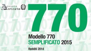 Modello 770