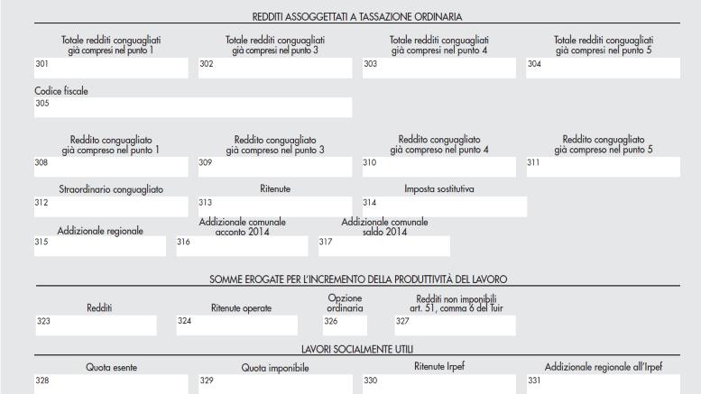 Conguaglio di fine anno e addizionali irpef sferalavoro for Scaglioni irpef 2016